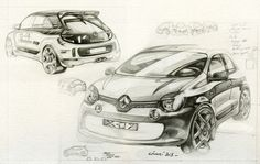 Gashetka | Transportation Design | 2014 | Renault Twingo (X-07/III-Series) | Source