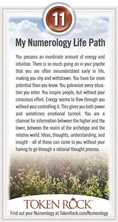 My #Numerology Life Path #11