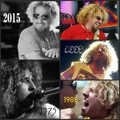 5 decades of awesomeness! Sammy Hagar, Van Hagar, Red Rocker, Eddie Van Halen, Picture Albums, Poster Pictures, Music Photo, Rock Stars, Classic Rock