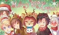 -- Mystic Messenger Christmas -- by Kurama-chan.deviantart.com on @DeviantArt