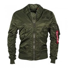 ALPHA Industries Herren Jacke CWU LW PM Dark Green (grün)