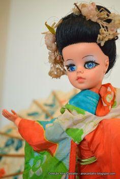 Japanese Susi doll, 1971. (Boneca Susi Japonesa de 1971). #susi #doll #estrela #boneca
