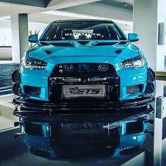 Blue Evolution #evo #evolution #mitsubishi #mitsuboshievo #mitaubishievolution #evox #evolutionx #japan #jdm #jdmjapan #japanjdm #2018