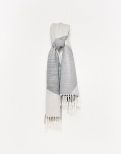 Autumn, Casual, Image, Fashion, Graphic Patterns, Scarves, Grey, Breien, Colors