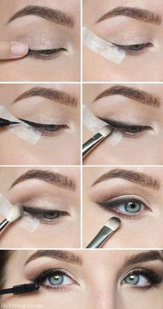 Maquillaje Schminke Augen Makeup Abschlussfeier Natürliche Tolle