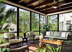 Exotic Outdoor Space by Penny Drue Baird and David DiGiovanni in Quogue, New York