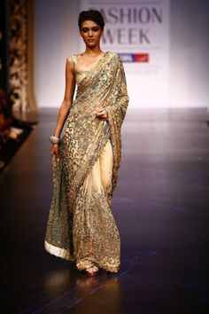 (2010) Saree by Satya Paul www.satyapaul.com...