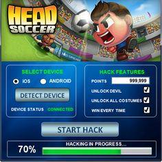 head soccer hacked apk