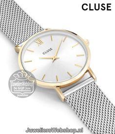 Cluse Horloge La Boheme CL18115 Mesh Gold-Silver