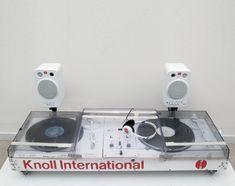 tom sachs - knoll turntable