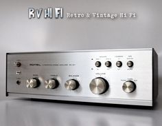 Rotel RA-211 Stereo Intergrated Amplifier - RV HiFi  Online store:  www.rvhifi.com.au