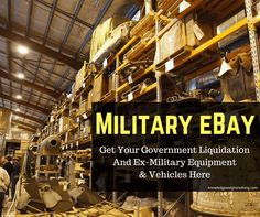 Are you interested in some ex-government and ex-military equipment? If so, you've come to the right place, as below, I will tell you how you can get hold of some high quality ex-government and military equipment and vehicles. Firstly though, I should state that there are no ex-military weapons available for sale here. There is …