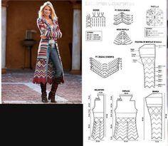 Sparkelz-Creatief: vest met Nederlands patroon!!