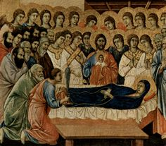 The Mother Of Christ by Father Vassall-Phillips Part Siena, Altar, Jesus And Mary Pictures, Duccio Di Buoninsegna, Mother Of Christ, Christian Paintings, St Clare's, Religious Images, Painting Wallpaper