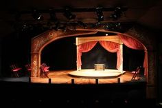 Bright Particular Star - Rosbud Theatre. Set designed by Dale Marushy.
