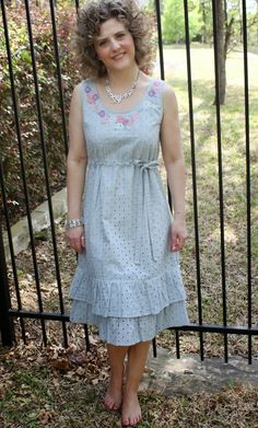 Want to make exactly this in ALL WHITE next summer. Gorgeous! Sew Serendipity: Spring 2014 Collection: Meet Tara!