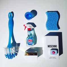 Toothbrush Holder, Spray Bottle, Cleaning Supplies, Moschino, Decorations, Eau De Toilette, Cleaning Agent, Dekoration, Ornaments