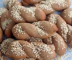 Greek Desserts, Greek Recipes, Sweetest Day, Biscotti, Tea Time, Sweets, Bread, Meals, Vegan