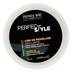 Cire de Modelage Brillante 75ml Patrick Bar Professionnel - Structure & Finition