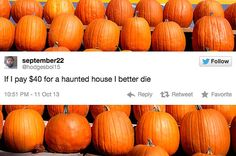 31 Tweets About Halloween That'll Actually Make You Laugh