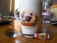 Image result for harry potter polymer clay coffee mug