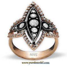 ♔ Middle East Jewellery - Rings: Aris pirlanta hurem sultan yuzuk
