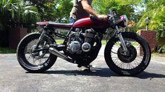 1976 Honda CB550 Start-Up & Walk Around
