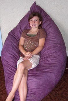 The Hug Chair - Foam Filled Pillow Furniture Bean Bag on Etsy, $79.00
