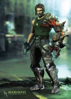 """#25, from Bionic Commando. Need to add this to my """"must play"""" list cuz he's sexy"""