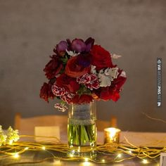 red wedding flowers | CHECK OUT MORE IDEAS AT WEDDINGPINS.NET | #weddings #weddingflowers #flowers