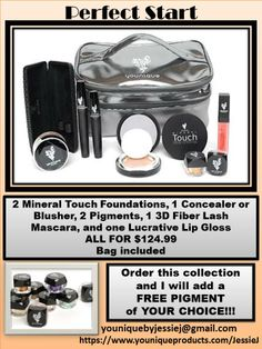 Don't settle for less!  Get FREE product when your order with me :D  Message me today to take advantage of this awesome deal!!! youniquebyjessie@gmail.com https://www.youniqueproducts.com/JessieJ www.facebook.com/JessieJYouniqueBoutique