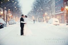 there's something so romantic about a winter wedding