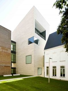 Great combination of old & new. museum M, Leuven   (Stéphane Beel Architects)  www.stephanebeel.com