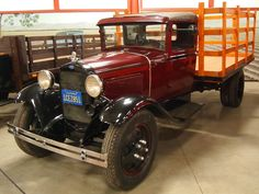 1931 Ford Model AA High Rack Stakebed