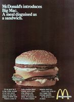 Research Magazine Advertisements. The Best Resource on the Net of Vintage Ads! McDonald's New Southwest Salad. Slow Cooker Sloppy Joes, Big Mac, Mcdonalds Fast Food, Retro Recipes, Ethnic Recipes, Sandwiches, Chocolate Covered Cherries, Vintage Ads, Vintage Food