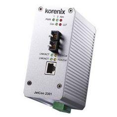 Convertor Ethernet - Fibra Optica Korenix JetCon 2301-s Computer, Usb Flash Drive, Audio, Fiber, Home Network, Usb Drive