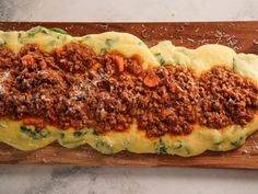 Get Spicy Lamb Bolognese Recipe from Food Network Giada Recipes, Cooking Recipes, Dinner Recipes, Holiday Recipes, Spring Recipes, Meal Recipes, Dinner Ideas, How To Cook Polenta, Parmesan Rind