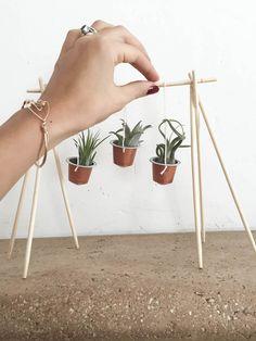 Transformez vos capsules nespresso en jolis minuscules pots de fleurs. DIY étape par étape en photos. DIY capsules nespresso
