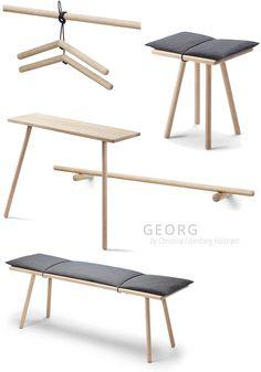 Georg by designer Christina Liljenberg Halstrøm for Trip Trap Skagerak