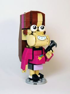 Lego Tv, Bill Cipher, Mind Up, Dipper, Lego Ideas, Lego Creations, Movie Characters, Figs, Dean