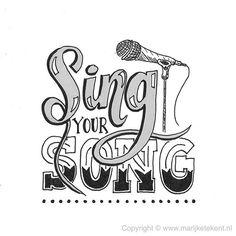 Dag 19 van de #dutchlettering challenge van augustus 2017. . . . . . . . #typography #calligraphy #brushcalligraphy #brushlettering #quote #lettering #letterart #handdrawn #handwritten #handmadefont #handletteren #handlettering #dutchletteringchallenge #draw #drawing #tekenen #tekening #sketch #doodle #typspire #typedaily