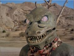 """This is always Neil's thing:  why aliens in popular culture are almost always humanoids. (You can actually see William Shatner laughing as he """"battles"""" this Gorn.) Neil deGrasse Tyson talks about the classic Star Trek Gorn fight scene."""