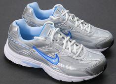 Women s Nike Initiator Athletic Sneakers Grey Blue Running Shoes Size 11  NWOB  Nike  RunningCrossTraining c16bf1d9f