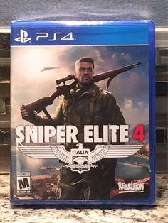 Sniper Elite 4  (PS4 / SEALED)