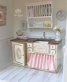 Hey, I found this really awesome Etsy listing at https://www.etsy.com/listing/291846115/dollhouse-miniature-farmhouse-sink-and