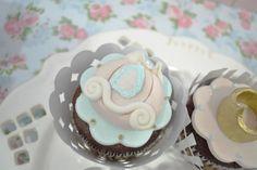 Princess Cinderella Birthday Party cupcakes - Bella Paris Designs