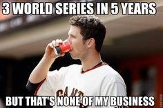 Posey says it like it is. World Series 2010, 2012, and 2014 champions! #sfgiants