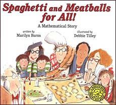 Spaghetti and Meatballs for All --great for teaching area and perimeter.