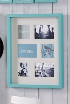 Teal Collage Frame for those pictures that matter from Next