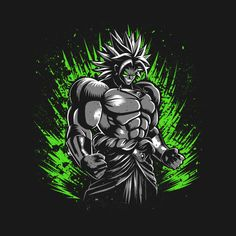 Check out this awesome 'Legendary+Saiyan' design on @TeePublic!